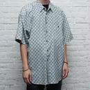 シルクシャツ 総柄 Silk S/S Shirt