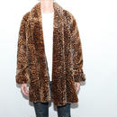 Vintage Animal Fake Fur Coat
