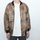 Animal Pattern Bomber Jacket