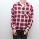 オンブレチェック ネルシャツ Vintage Van Husen Flannel Shirt
