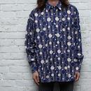 コットン総柄シャツ Cotton L/S Shirt