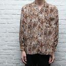 レーヨン総柄シャツ Rayon Shirt