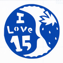 丸型シリーズ【吹き出しの ILove15】12cm版