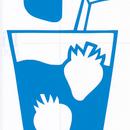 ワンポイントシリーズ【いちごジュース】6cm版