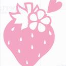 ワンポイントシリーズ【ときめくいちご】12cm版