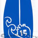 ワンポイントシリーズ【いちごのサーフボード】9cm版