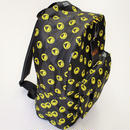 SHOUT & SHOCKING SMILE DAYPACK/BLACK-YELLOW