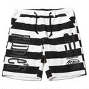 DRAWING BORDER SHORTS / BLACK