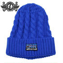 ASAGONIA KNIT CAP / BLUE