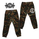 MELT CAMO JOGGER PANTS / BROWN