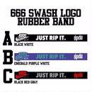 666 SWASH LOGO RUBBER BAND