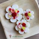 お花のサシェ3個セット*3色から選べます<ラッピング無料>