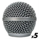 Shure SM58互換グリルボール5個セット