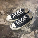 CONVERSE  コンバース  CHUCK TAYLOR ALL STAR '70-OX Black 144757C CT70  三ツ星(N)