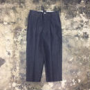 UNITUS(ユナイタス) SS18 Center Darts Pants (Denim)  Indigo【UTSSS18-P03】(N)