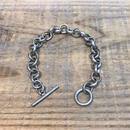 Vintage Sterling Silver Mexican Bracelet【F381】(N)