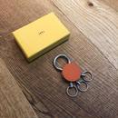 ITTI-GOODS-004-A CRISTY KEY RING /shrunken Orange(N)