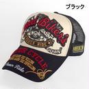 NEVEREND 刺繍&プリント バイカー×カジノギャンブラー メッシュキャップ 8683933-41