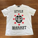 MASK-MAN /WHITE TEE