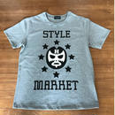 MASK-MAN / GREY TEE