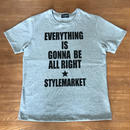 EVERY THING IS GONNA BE ALL RIGHT /GREY  TEE