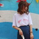 シンプルプリントTシャツ