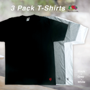 "New Yorker ""印鑑"" 3 Pack T-Shirts"