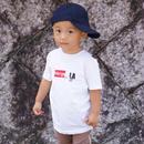 Sticker LA Tシャツ / Merge LA