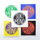 SUKIMONO LOGO STICKER PACK (SUKIMONO BAND 2nd Single - こんなおとなになるなDownload Code付き)