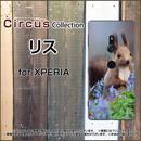 XPERIAシリーズ リス スマホケース ハードタイプ (品番ci-038)