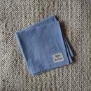 #100 Khadi Stripe Bandana (Blue)