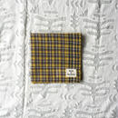 #100 Khadi Panel Plaid Bandana (Yellow)