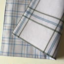Lungi White Plaid Place Mat #K