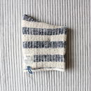 Gara-bou Kitchen Mitten (Indigo Stripe)