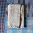 Gara-bou Blanket Stole 1ply 100×190cm (Ivory Chambray)