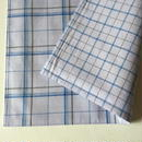 Lungi White Plaid Place Mat #F