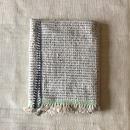 Gara-bou Blanket Stole Kabe 100×190cm (Ice Pin Border)
