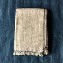 Gara-bou Blanket Stole Kabe 100×190cm (Ivory)