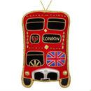 Union Jack London Bus Hanging Decoration