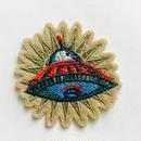 ワッペン ufo