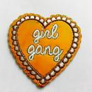 ワッペン girl gang