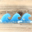 【Hibis】waveキャンドル -blueshell-
