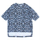 Big Pocket Tee - Swallowtail / Blue