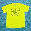 SUSHI GANG Tee  Safetygreen/ReflectorBlack