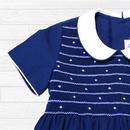 星のスモッキング刺繍ワンピース(120cm)