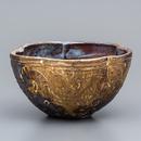 No.28:YOHEN Natural Ash Glaze Bowl「窯変刷毛唐草深鉢」