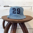 CLASSIC BUCKET HAT / Light Blue × Navy