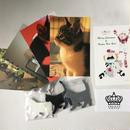 木製猫 マグネット  3色と猫ポストカード