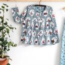 100%オーガニックコットン:Modeerskahuset Blouse Garden Dreams