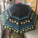 SALE お花とボーダー 婦人傘